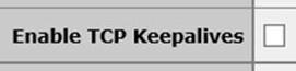 Kemp Keepalives